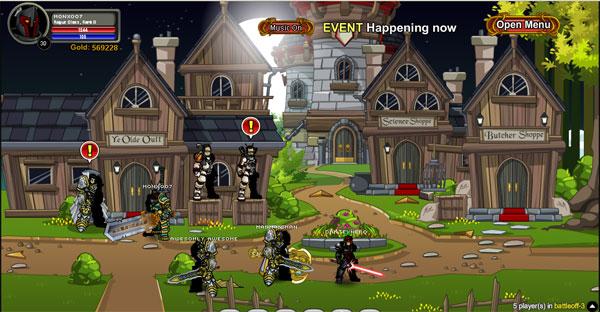 AQWorlds 2nd Birthday - Battleoff