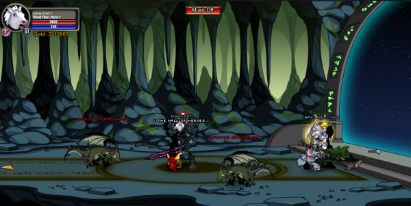 AQWorlds A Plague Of Dragons - Dragon's Heart