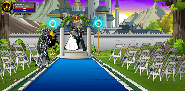 AQWorlds Alina and Rolith Wedding Event - Married
