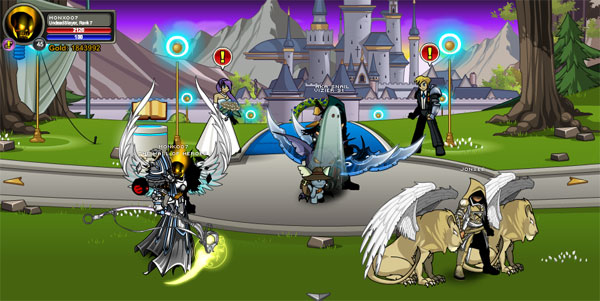 AQWorlds Alina and Rolith Wedding Event
