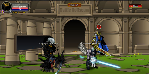 AQWorlds Battle Coliseum