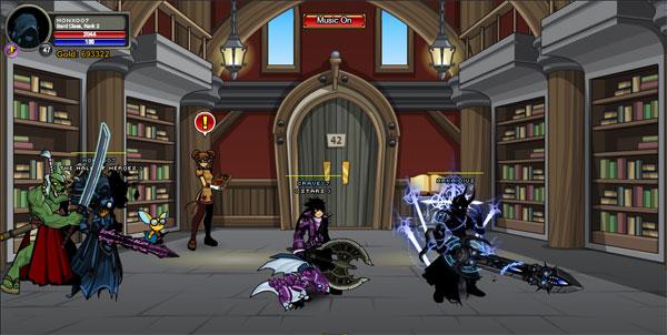 AQWorlds BattleOn Library (LoreMaster)