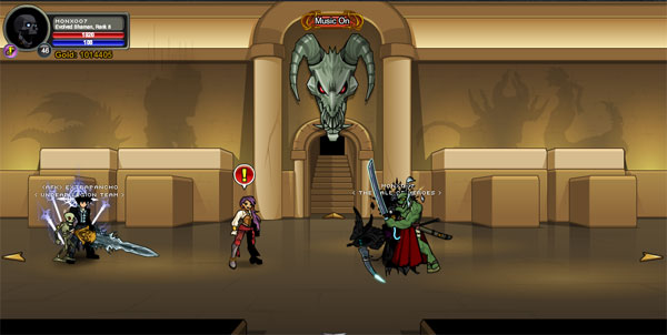 AQWorlds BattleOn Museum (Treasure Hunter)