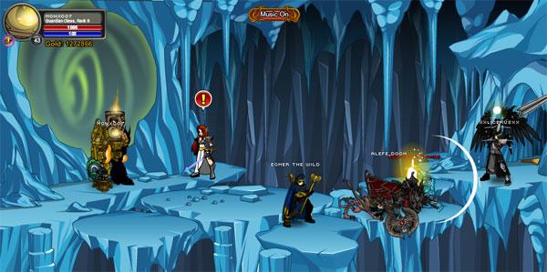 AQWorlds BattleUnder - BattleUnder D