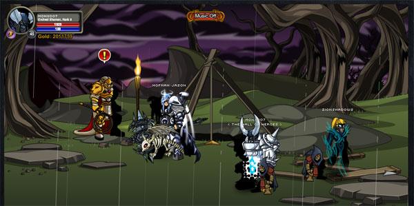 AQWorlds BlackHorn Tomb