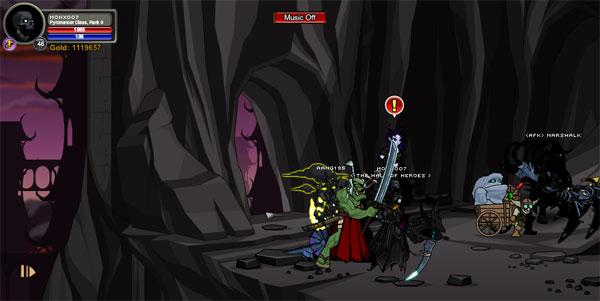 AQWorlds BlackHorn Tomb - Storm Temple