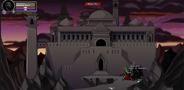 AQWorlds BlackHorn Tomb - Venom Vaults