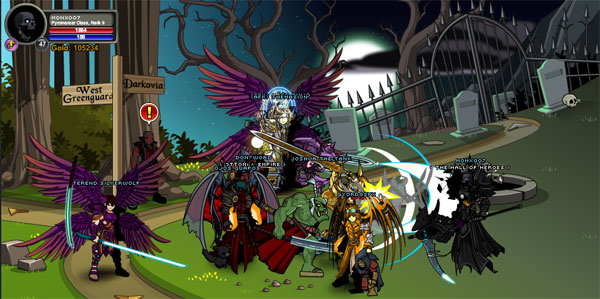 AQWorlds Blood Titan's Recruit