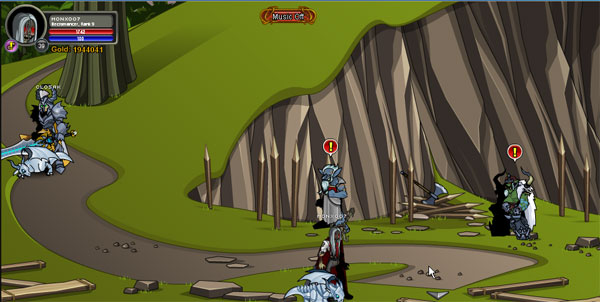AQWorlds BloodTusk Ravine - Chaorrupted Alliance