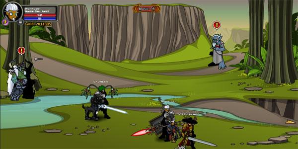 AQWorlds BloodTusk Ravine - Chaos Beast