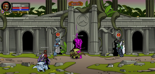 AQWorlds BloodTusk Ravine - Ancient Temple