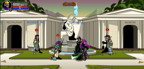 AQWorlds BloodTusk Ravine - Trolls Kingdom