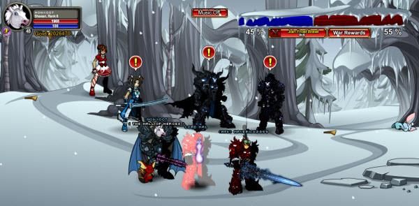 AQWorlds Dage's Dark Winter