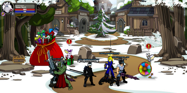 AQWorlds Dage's Dark Winter - Tinsel