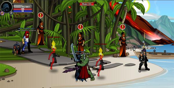 AQWorlds Dage's Saga: Femme Fatalities