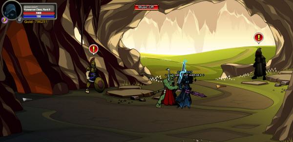 AQWorlds Dage's Saga: Femme Fatalities - Judgement