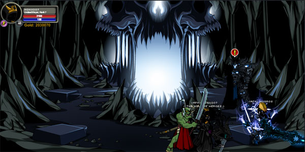 AQWorlds Dage The Evil - Soul Forge