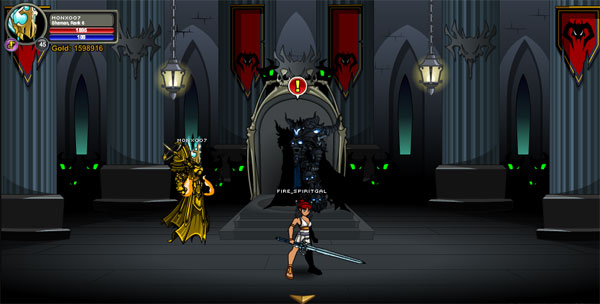AQWorlds Dage, The Undead Legion Quest