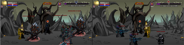 AQWorlds Dave VS Nulgath: 2nd Skirmish Battle