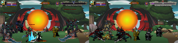 AQWorlds Dave VS Nulgath: 3rd Skirmish Battle