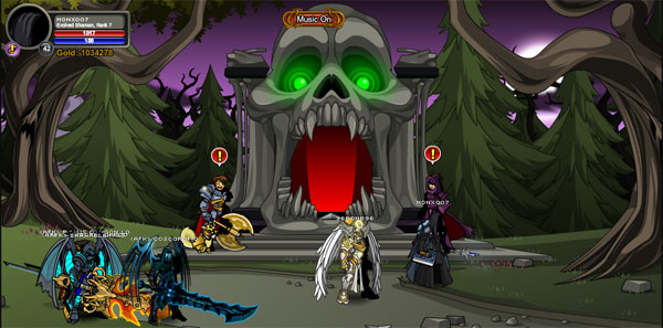AQWorlds DoomWood Part 2: Whispers Of The Darkness Lord