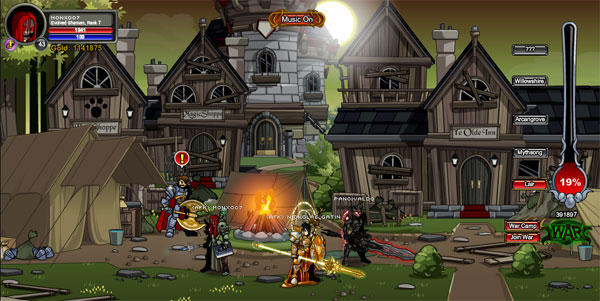 AQWorlds DoomWood Part 2: Whispers Of The Darkness Lord - AQWorlds Zombies at BattleOn