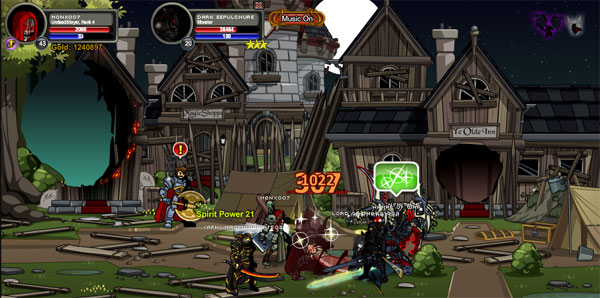 AQWorlds DoomWood Part 2: Whispers Of The Darkness Lord - Enemy Defeat