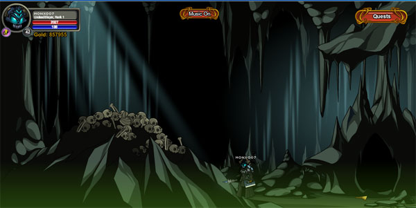 AQWorlds DoomWood Part 2: Whispers Of The Darkness Lord - Necro Cavern