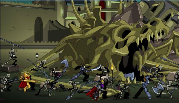 AQWorlds DoomWood Saga War