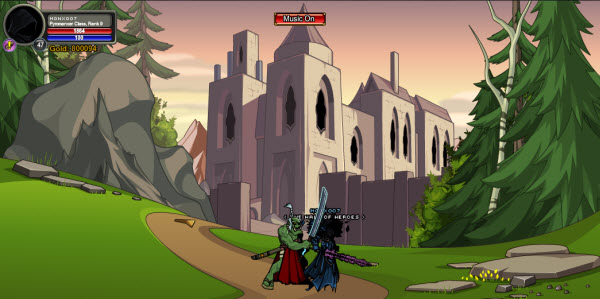 AQWorlds DragonRune Hall