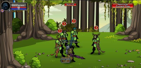 AQWorlds Druids VS Voids