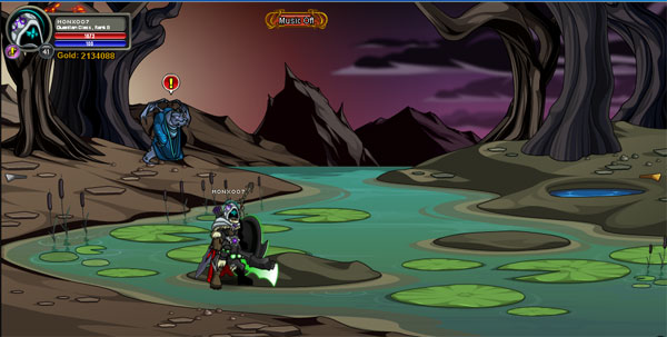 AQWorlds EtherStorm: Water Storm
