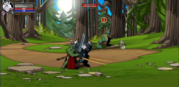 AQWorlds Fae's Fabled Forest: The Shifting Shape Of Chaos
