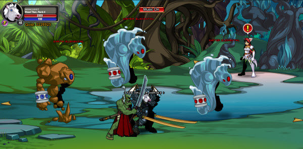 AQWorlds Fae's Fabled Forest: The Shifting Shape Of Chaos - Fae