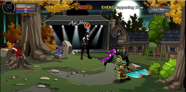 AQWorlds Fear Chaser