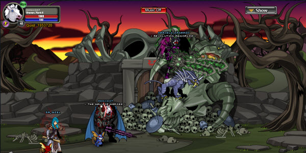AQWorlds Friday The 13th: Lord Of The Wedding Ring
