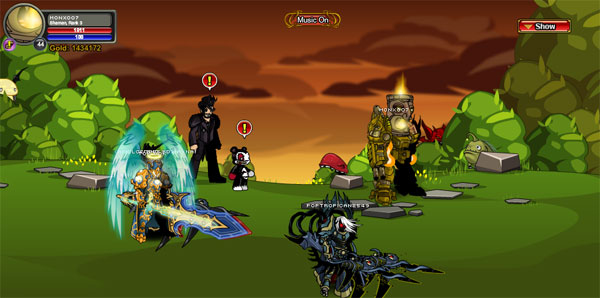 AQWorlds Friday The 13th: Never Say NeverWorld