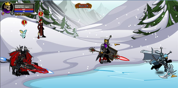 AQWorlds Frostvale 2011