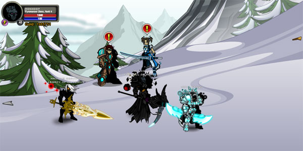 AQWorlds Frostvale 2012: [12-12-12] Kezeroth, The End Of All Things Walkthrouh