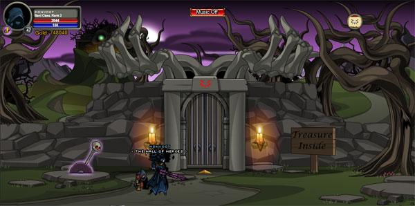AQWorlds Grimskull's Dungeon: The Vault Of Endless Doom