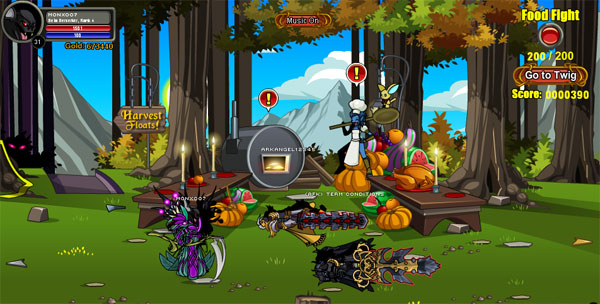 AQWorlds Harvest Feast