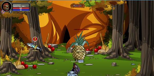 AQWorlds Harvest Feast - Enter The Turducken