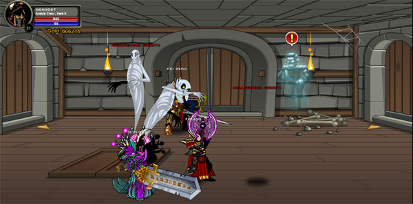 AQWorlds HollowSoul Castle