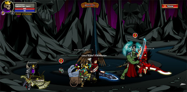 AQWorlds Love's Eternal Curse - Underworld