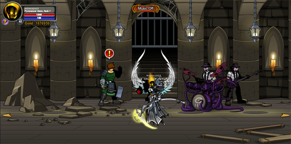 AQWorlds Mogloween 2012 - The Catacomb
