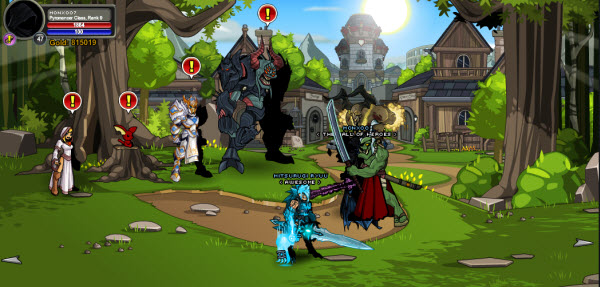 AQWorlds Nulgath (Miltonius) Secret (adding Fiend Tokens quests