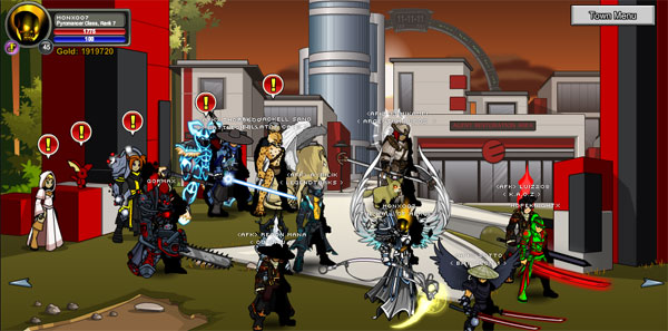 AQWorlds 4th Birthday - Operation: Gameocide