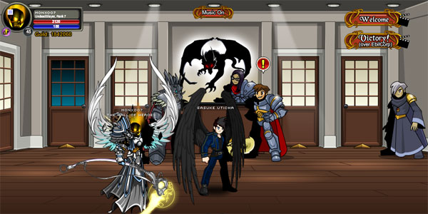 AQWorlds 4th Birthday - Operation: Gameocide - Secret Underground Lab