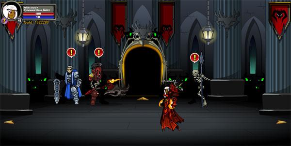 AQWorlds Shadowfall: Gravelyn's Attack