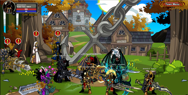 Aqworlds Skyguard Hair Shop 62